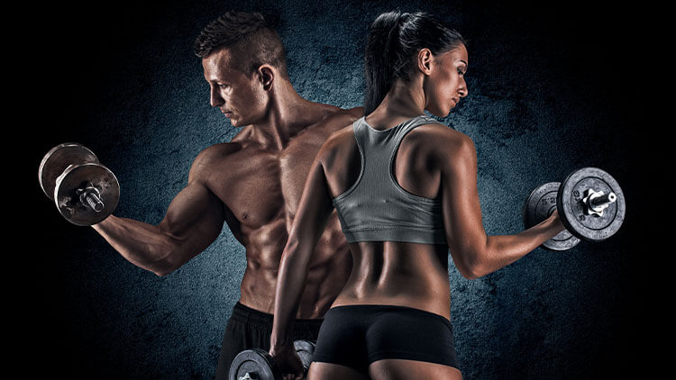 man-and-a-woman-with-dumbells