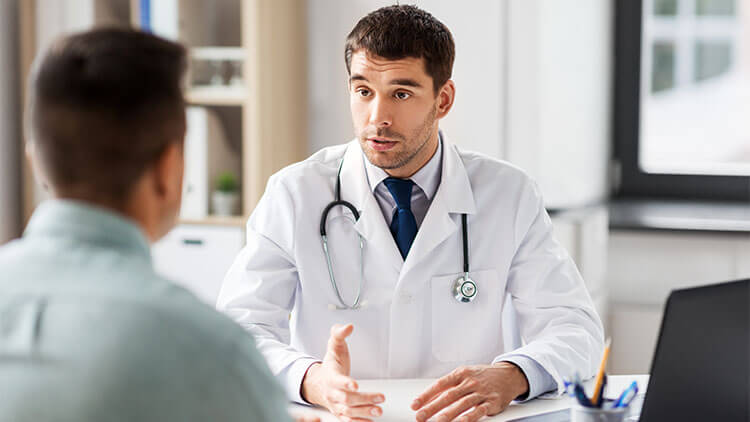 man-with-a-doctor
